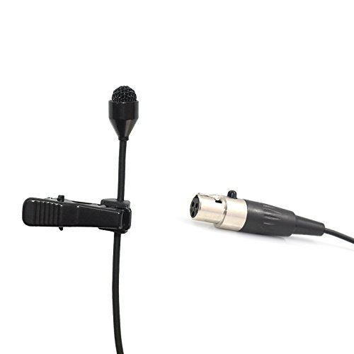 Pro Lavalier Lapel Microphone Microdot 6016 For AKG Wireless Transmitter - Omni-directional Condenser Mic