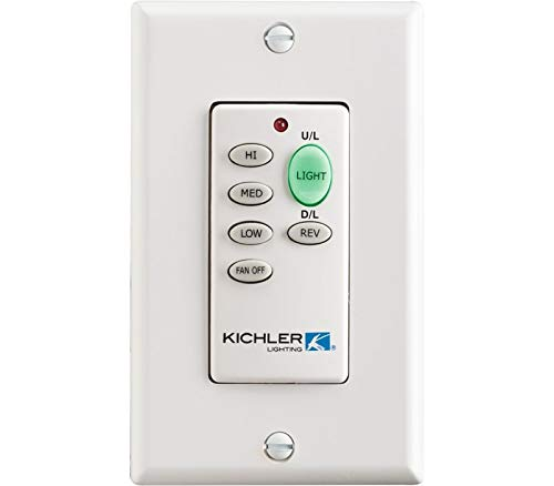 Kichler 370038MULTR Accessory Wall Transmitter F-Function, Multiple