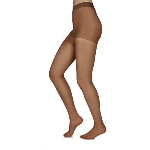 - Silky Toes Control Top Sheer Pantyhose 3 Pk (Extra Large, Honey (3 Per Pack))
