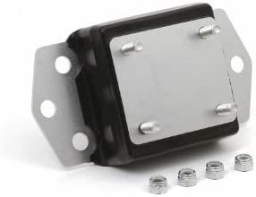 Daystar Jeep Wrangler Polyurethane 6 Cylinder Motor Mount 1 Taller than stock Made in America fits TJ and YJ 1987 to 2006 4WD KJ01005BK