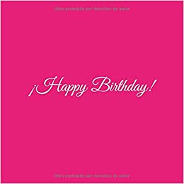 Happy Birthday: Libro De Visitas Happy Birthday para Fiesta ...
