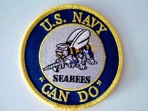 U. S. Navy Seabee's Can Do Patch Sewn or Iron On 3