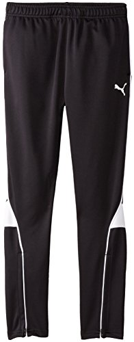 PUMA Big Boys' Pure Core Soccer Pant, PUMA Black, Medium