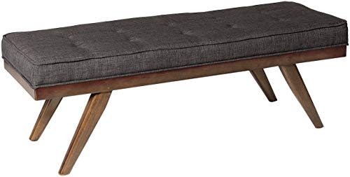 "Homelegance Bingsley 51"" Fabric Seating Bench with Button Tu"
