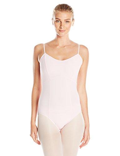 Gia-Mia Dance Women's Camisole Leotard Strappy Back Jazz Costume Studio Practice Performance, Ballet Pink, S