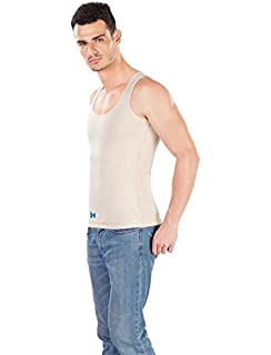 f26b231a2ef2 Buy Dermawear Men's Blended Tummy Tight Online at Low Prices in ...