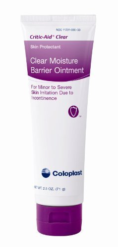 Coloplast Critic Aid Clear Skin Barrier 2.5Ounce Tube - Box of 12 - Model 7566 by Coloplast Inc. - Coloplast Box
