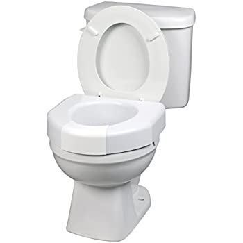 Amazon Com Ableware Basic Open Front Elevated Toilet Seat