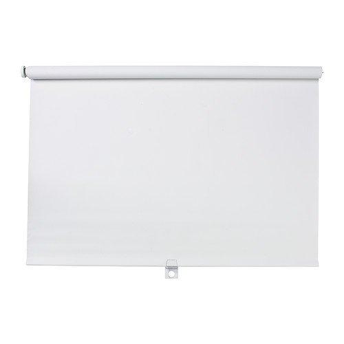IKEA TUPPLUR - Block-out roller blind, white - 80x195 cm