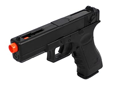 Amazon com : electric blowback airsoft pistol full auto compact