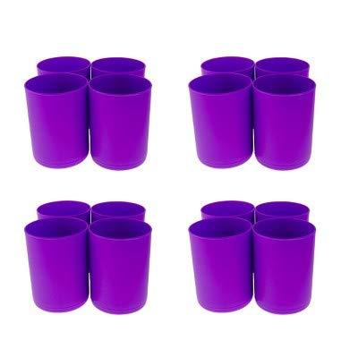 16ct Storage Cups Purple - Bullseye's Playground153; Purple by bullseye's playground