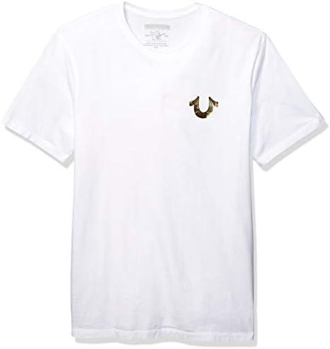 True Religion Camiseta Buda de Oro Blanca: Amazon.es: Ropa y ...