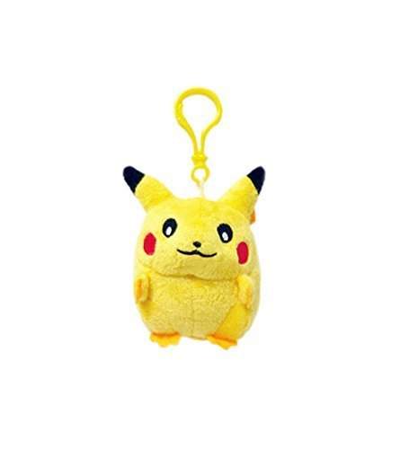 Pokemon: 3-inch Plush Pikachu Keychain - Smile (Plush Pokemon Keychain)
