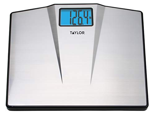 Taylor Precision Products 7410 Taylor High Capacity Digital Bathroom Scale, Samsung, Multicolored
