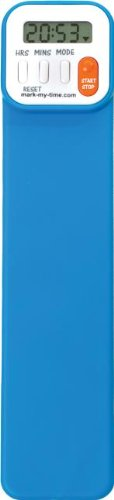 Mark-My-Time Digital Bookmark - Neon Blue from Mark-My-Time