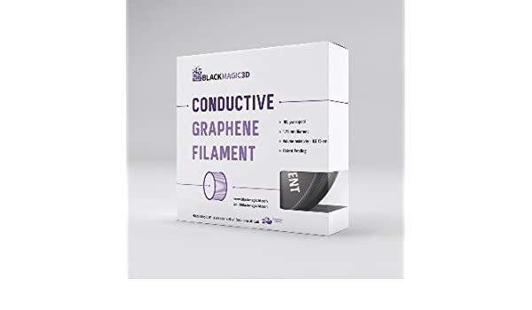 Filamento conductivo grafeno (100 G) 1,75 mm, 3,00 mm: Amazon.es ...