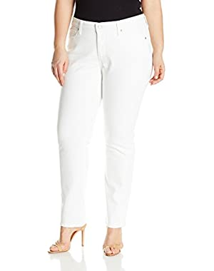 Women's Plus Size 414 Relaxed Straight Fit Jeans