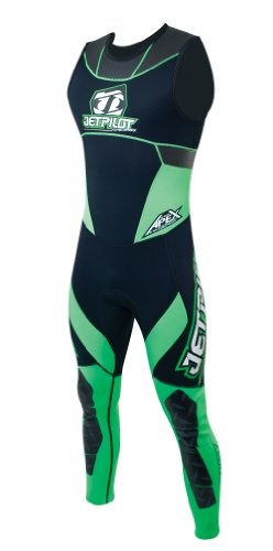 JetPilot Apex Race John Bodysuit (Green, - Suit Apex
