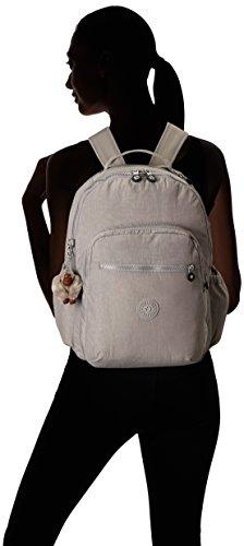 31j0L7f9kXL - Kipling Seoul Go Laptop Backpack, Slate Grey , One Size
