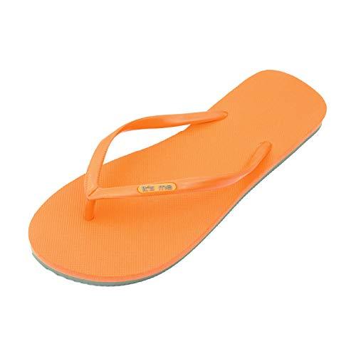 Caoutchouc Tong Flops Classiques toxique Naturel En Flip Antidérapantes Semelles Orange Non t4w5xBwd
