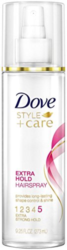Dove Style + Care Hairspray, Strength and Shine Extra Hold - 9.25 oz