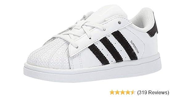 8075c9ebde Amazon.com | adidas Originals Kids' Superstars Running Shoe | Sneakers