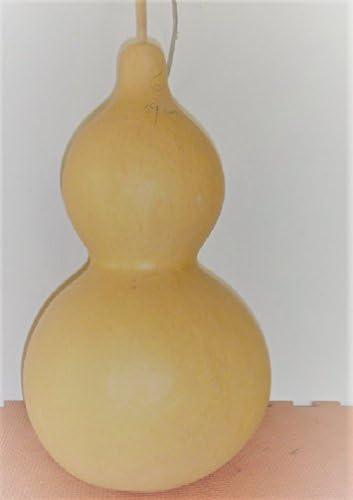 大瓢箪(3個)高さ35-40cm 穴を開けてワックスをかける