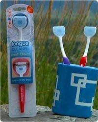 2 Pack Orabrush Tongue Cleaner Scraper by Orabrush