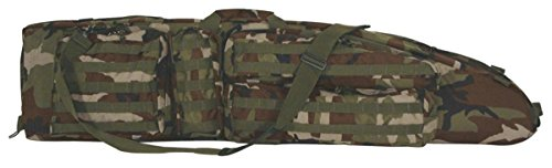 VooDoo Tactical 15-7981005000 The Ultimate Drag Bag, Woodland Camo, 51'' by VooDoo Tactical