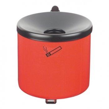 Vol. 1,0 Liter; /ØxH 110x120mm Kipp-Wandascher Midi Stahlblech graphit *Made in Germany*