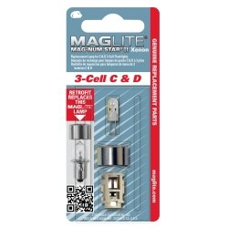 Mag Instrument (MAGLMXA301) 3 cell MAG-NUM Star II Xenon Replacement ()