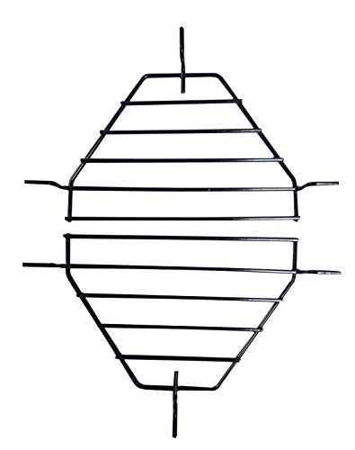 (soldbbq Roaster Drip Pan Racks Replacement for Primo Oval XL Grill by Primo 333, 2 per Box )