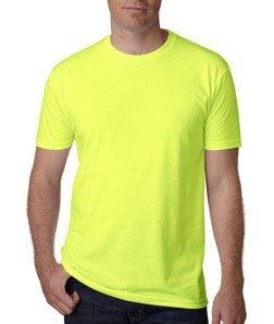 Men's CVC Crew (Neon Yellow) (Large)