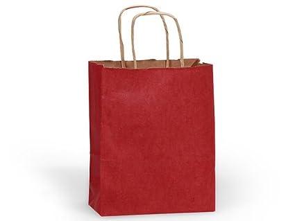 CUB CHRISTMAS RED 100% RecycledBULK Bolsas de compras 8x4-3 ...