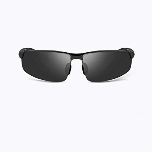 Gafas Gafas box De Sol Box Hombres mercury Polarized Sunglasses Silver GAOYANG Black Deportes Deportivas Driving De Glasses Glasses Driver Color Gray Driving Black Influx Los dfHqxx0w
