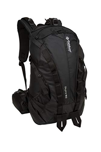 Outdoor Products Skyline Internal Frame Backpack, 28.9-Liter Storage, Black (Outdoor Skyline Products)
