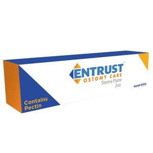 Entrust Ostomy No Sting Pectin-Based Paste 2 oz. Tube