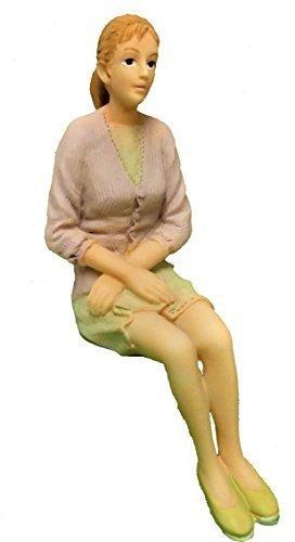 1:12 poliresina casa de muñecas en miniatura-joven adolescente