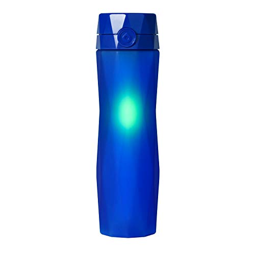 Hidrate Spark 2.0 Smart Water Bottle (Royal Blue) - Tracks Water Intake & Glows to Remind You to Stay Hydrated