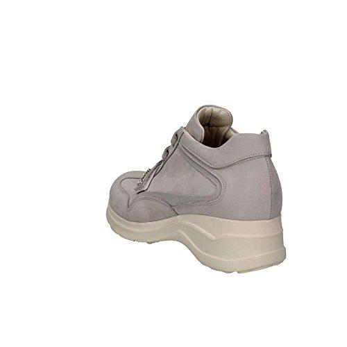 Nabuk Mujer Perla P Zapatillas Paciotti PM30 Cesare Di Gris Ivx6n