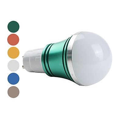 ZQ Modern LED bulb light Bombillas Globo A GU10 W 3 LED de Alta ...