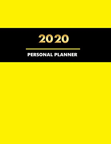 Personal Planner: 2020 Weekly and Monthly Planner - To Do List, Appointment Note Book and much more (01 1)