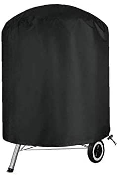 BBQ Grill Cover Waterdichte Heavy Duty Rip Proof Oxford Stof Grill Barbecue Cover Ronde 58cmx 77cm