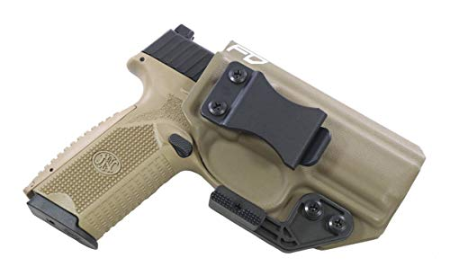 FDO Industries -Formerly Fierce Defender- IWB Kydex Holster FN 509 The Paladin Series -Made in USA- (Flat Dark Earth)