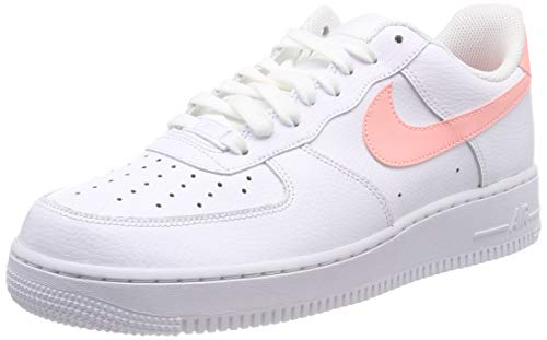 '07 Sneaker Nike Air Force 1 Bianco Patent Donna wXRtrRBq
