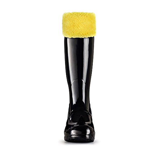 TPLB Thermal Fleece Welly Socks Compatible with Hunter Rain Boots(M, Y)