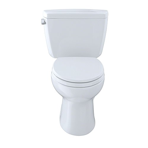 Drake 2-piece 1.6 GPF Elongated Toilet in Cotton by TOTO (Image #2)