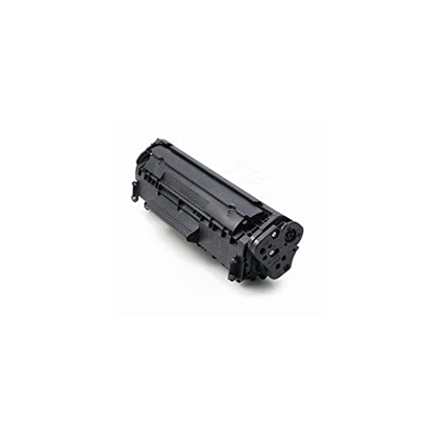 TOP & TECH Remanufactured Toner Cartridge Replacement for HP Q2612A ( Black )