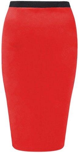 moulante jupes midi femmes la plus taille occasionnels tron maillot red nouvelles crayon on x80vwFqwp