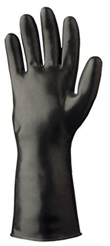 SHOWA Glove 892-10 SHOWA Size 10 Black Viton II 12 12 mil...